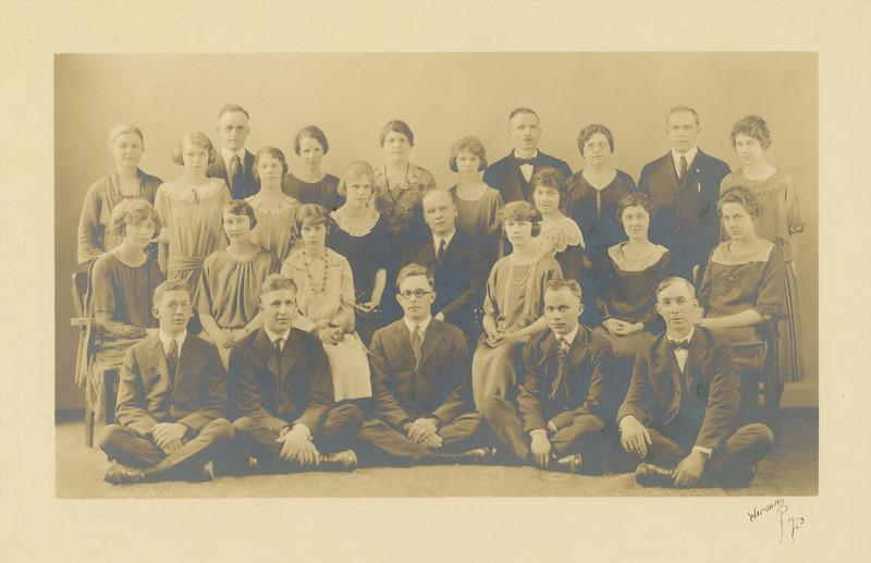 Swedish Mission Choir, 1928