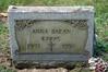 ANNA BARAN KARAS GRAVE Holy Trinity Lutheran, Cemetery Hermitage pa