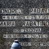 Onorej Rabatin, Kalava Maria Rabatin Kalava cemetery 1993