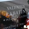Kalava cemetary Valentin Rabatin