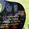 Kalava cemetary Rodina Rabatinova, Jan Alzbeta graves