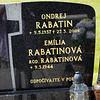 Grave photo Ondrej Rabatin, Emilia Rabatinova. Kalava town cemetary Kalava cemetary