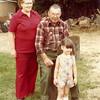 Gladys Lillian Peterson, Joseph Henry Safer and granddaughter, Arlene Louise Safer
