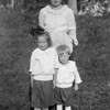 <center>Alpha Orphia Marmorine, sister Edna Rose Marmorine, and brother Orin Ralph Marmorine, III. Somewhere I believe I have a photo of Orin and my father Kenneth Emanuel Peterson on a road trip in a 1929 Ford. Photo by Alvin Halvor Larson, restored by his grandson, Glenn David Griffin.