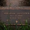 Harmon Cemetery, Morton Co., ND, Established in 1897.<br /> Abraham Husfloen PVT US ARMY, World War 1, b 1893, d 1976.<br /> Abraham Olsen Husfloen, born 31 Dec 1893 in Ytre Rendal, Østerdalen, Hedmark, Norway, died Mar 1976 in Mandan, Morton Co., ND.