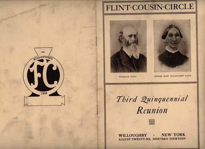 The Flint Family founders shown are WPG's Greatgreatgrandparents