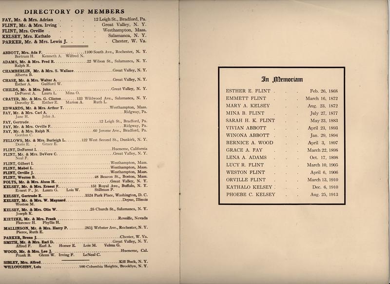 Members and In Memorium