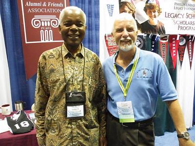 Camelot Brothers:  George Bokamba '66 and Rick Hendricks '66