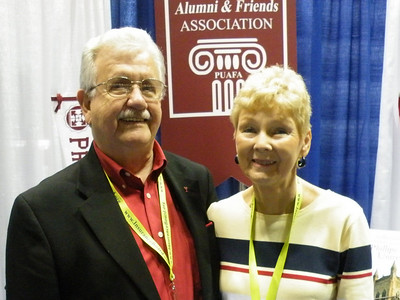 Lucien (L.G.) Lee '59, with his wife
