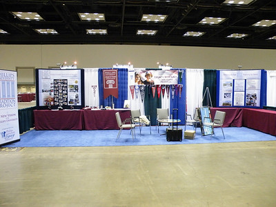 Phillips University Booth in Indianapolis