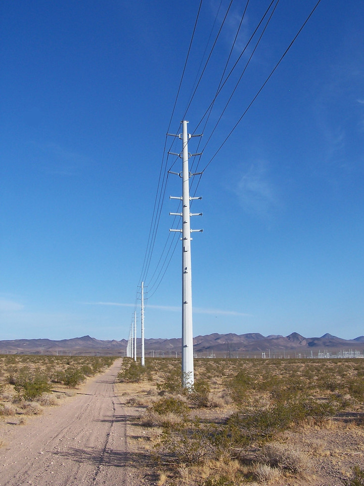 """The pole, identified in the accident report as number """"X14329"""" was struck near the top at 66 feet above the ground. The pole carries phase lines charged with 69,000 volts."""