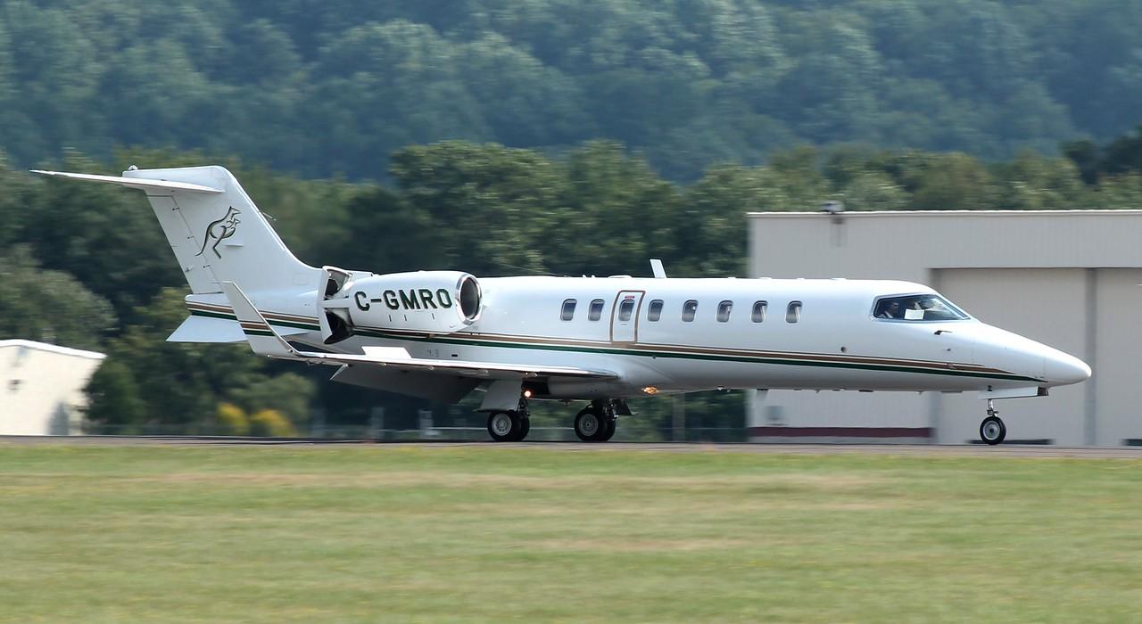 Learjet 45 @ KOXC 2014