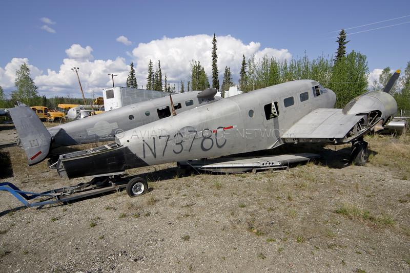 N7378C   Beech C-45F Expeditor