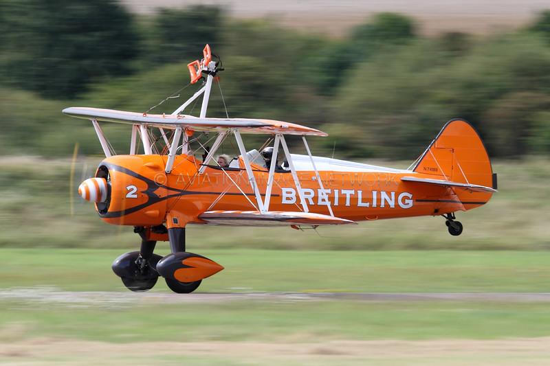N74189 | Boeing PT-17 Kaydet | Breitling Wingwalkers
