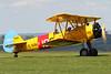 G-AZLE   Boeing A75N1 Stearman   DH Heritage Flights Ltd