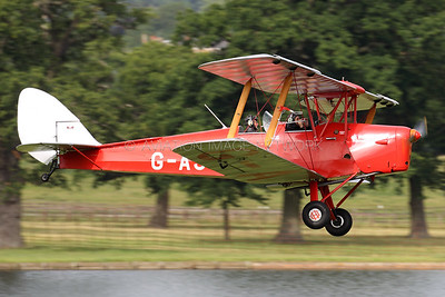 G-AJVE | de Havilland DH82A Tiger Moth