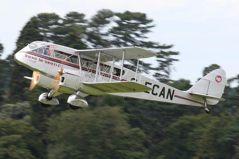 G-ECAN | de Havilland DH84 Dragon | Railway Air Services Ltd