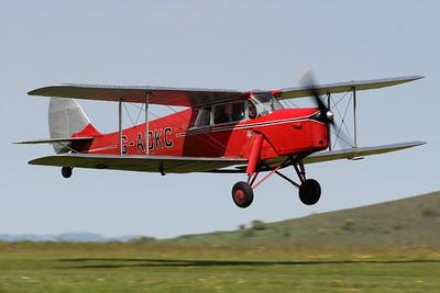 G-ADKC   de Havilland DH87B Hornet Moth