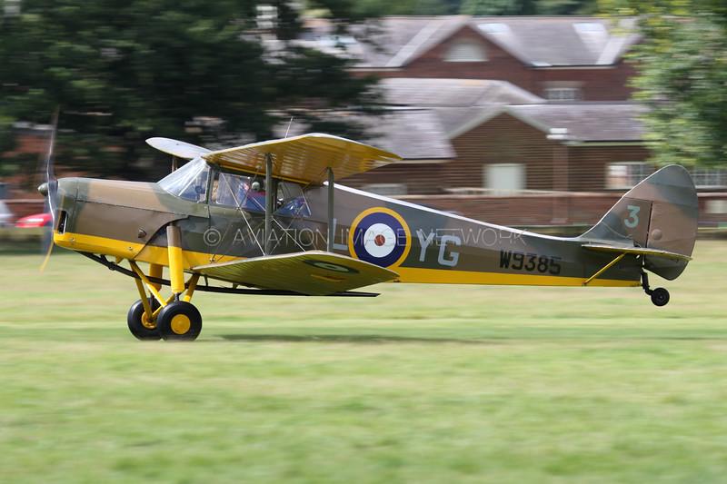 W9385 (G-ADND) | de Havilland DH87B Hornet Moth