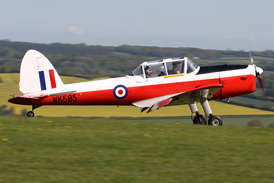 WK585 (G-BZGA) | de Havilland Canada DHC-1 Chipmunk 22 | Compton Abbas Airfield Ltd