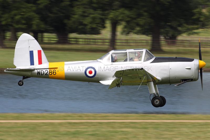 WD286 (G-BBND) | de Havilland Canada DHC-1 Chipmunk Mk22