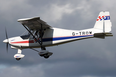 G-TROW | Ikarus C-42 FB80 Bravo | Blue Stocks Aviation Ltd