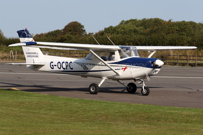 G-OCPC   Reims Cessna FA152   Devon and Somerset Flight Training Ltd