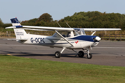 G-OCPC | Reims Cessna FA152 | Devon and Somerset Flight Training Ltd