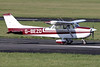 G-BEZO   Reims Cessna F172M Skyhawk   Staverton Flying School @ Skypark Ltd