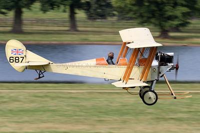 G-AWYI | Royal Aircraft Factory BE-2C