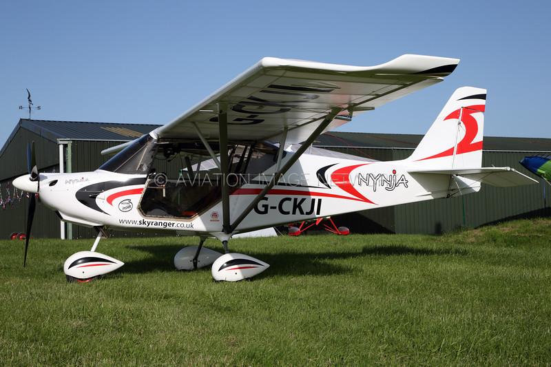 G-CKJI   Skyranger Nynja 912S(1)   Flylight Airsports Ltd