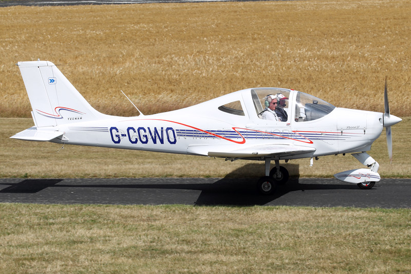 G-CGWO   Tecnam P2002-JF Sierra   Shropshire Aero Club Ltd