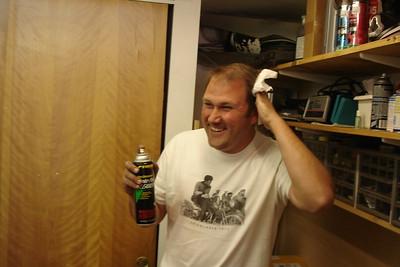 All fun n'games til someone gets clutch fluid in their hair.