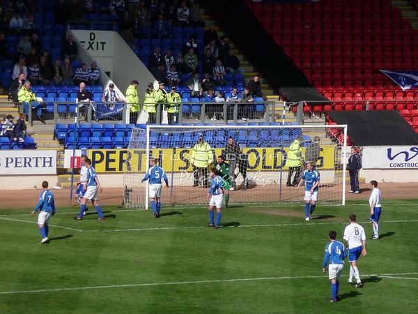 St Johnstone vs Greenock Morton - First Half