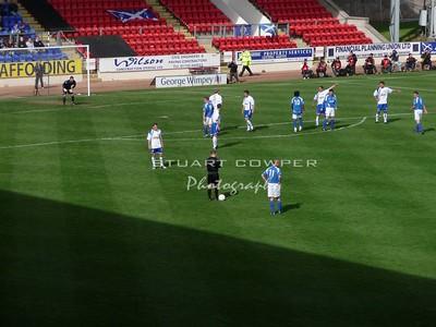 St Johnstone vs Greenock Morton - Second Half