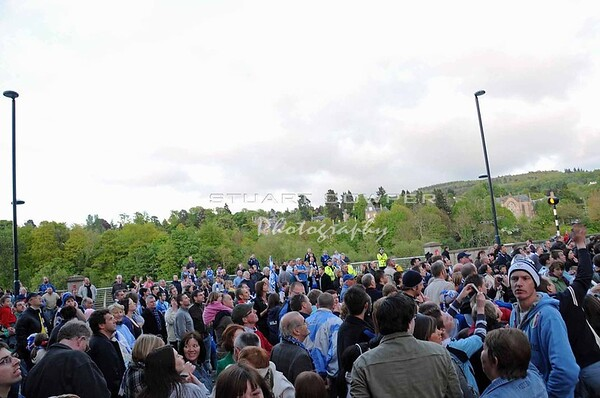 St Johnstone FC - Champions - Open Top Bus Tour - Town and Council Reception