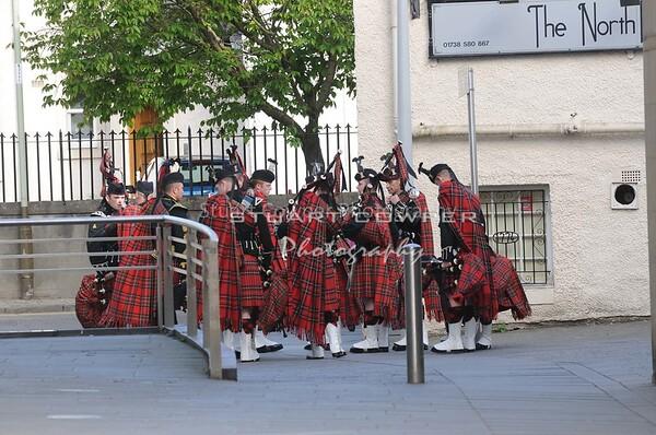 Royal British Legion Scotland Parade Through Perth