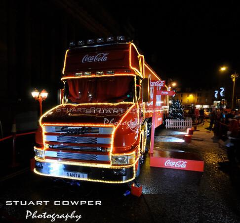 Coca Cola Christmas Truck Visits Perth
