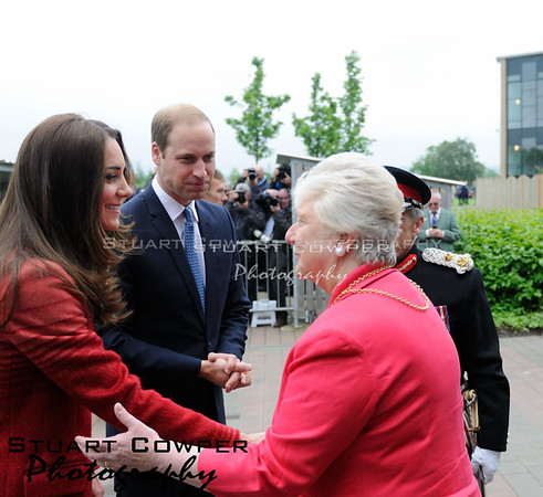 Earl and Countess of Strathearn Visit To Crieff