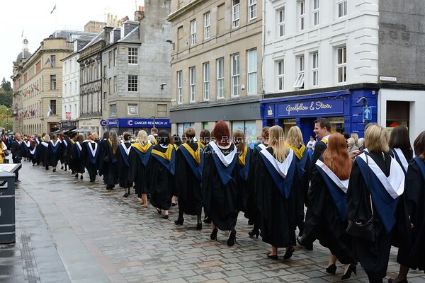 Perth College Graduation Parade