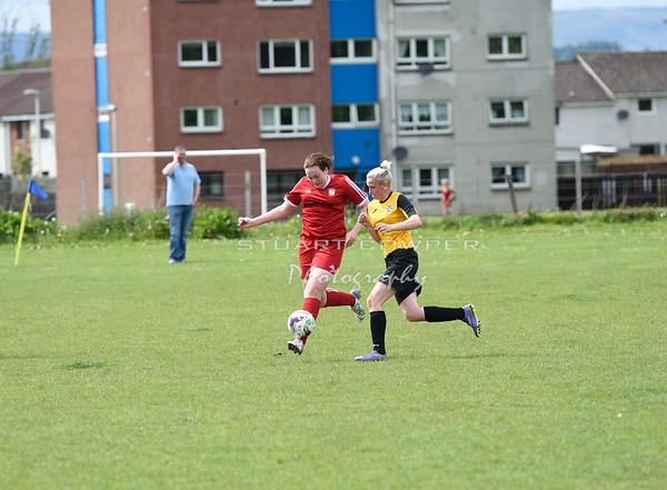 Jeanfield Girls 17s vs East Fife 17s