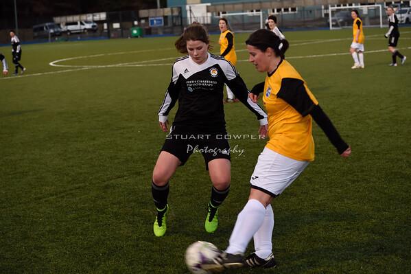 Jeanfield Ladies vs East Fife