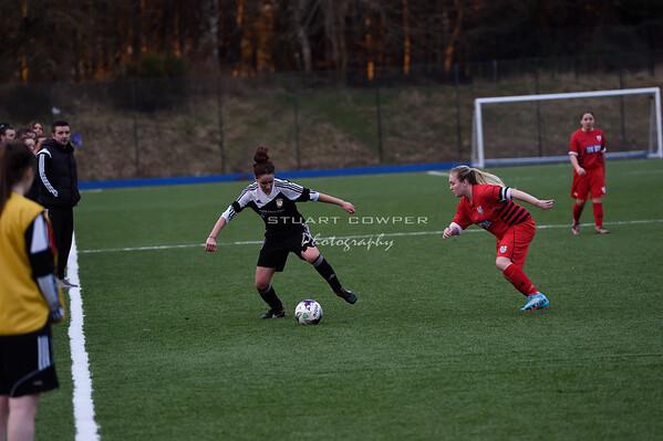 Jeanfield Ladies vs Queens Park Ladies