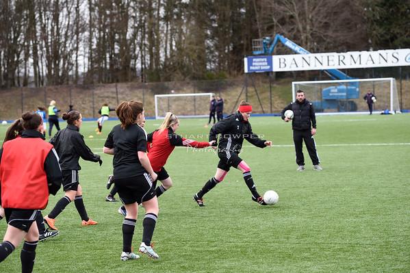 Jeanfield Ladies vs Rangers