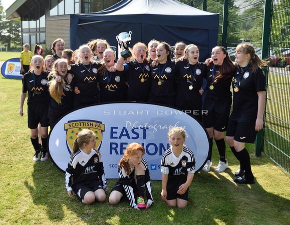 Jeanfield Swifts Girls 17s - Cup Winners!