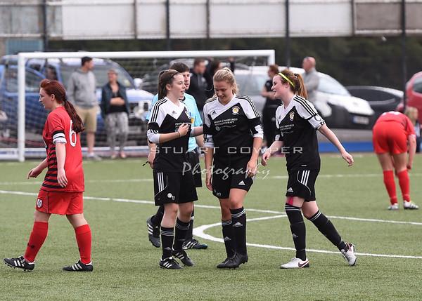 Jeanfield Swifts Ladies vs Queens Park Ladies