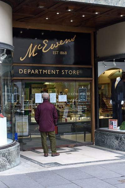 McEwens of Perth Store Closure