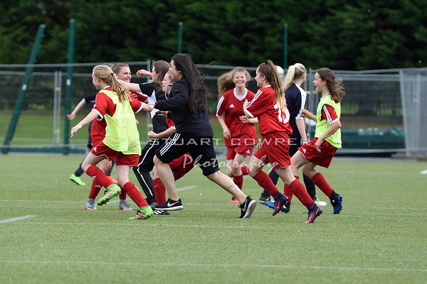 Jeanfield Swifts Girls Under 15s Cup Winners Pictures