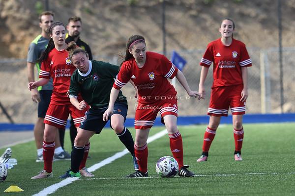 Jeanfield Swifts Ladies vs Edinburgh University Hutchison Vale