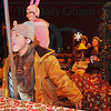"Matt Hamilton/The Daily Citizen<br /> Colton Burnette, 11, plays ""Flick"" on the Walgreens ""Christmas Story""-themed float Saturday in the parade in Chatsworth."